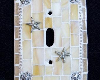Mosaic Shore Light Switch Plate #1357