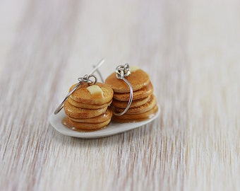 Buttermilk Pancake Earrings