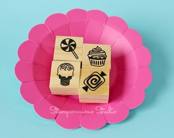 4 pc sweets stamp set