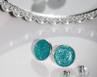 Glitteratti Collection:  16mm post earrings - many colors