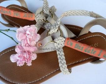 Flip flop, Sandal Monograms