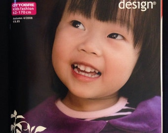 Ottebre design pattern magazine kids fashion Fall 2008