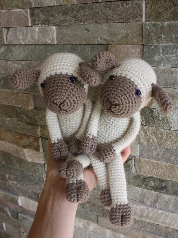 Amigurumi Sheep Tutorial : Amigurumi Sheep PATTERN Lexie Lamb bonus by TinyAmigurumi