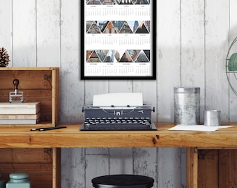 2016 Calendar, Clearance Sale, New York City Calendar, Travel Calendar, New York City Photography, Paper Goods, Gift Idea