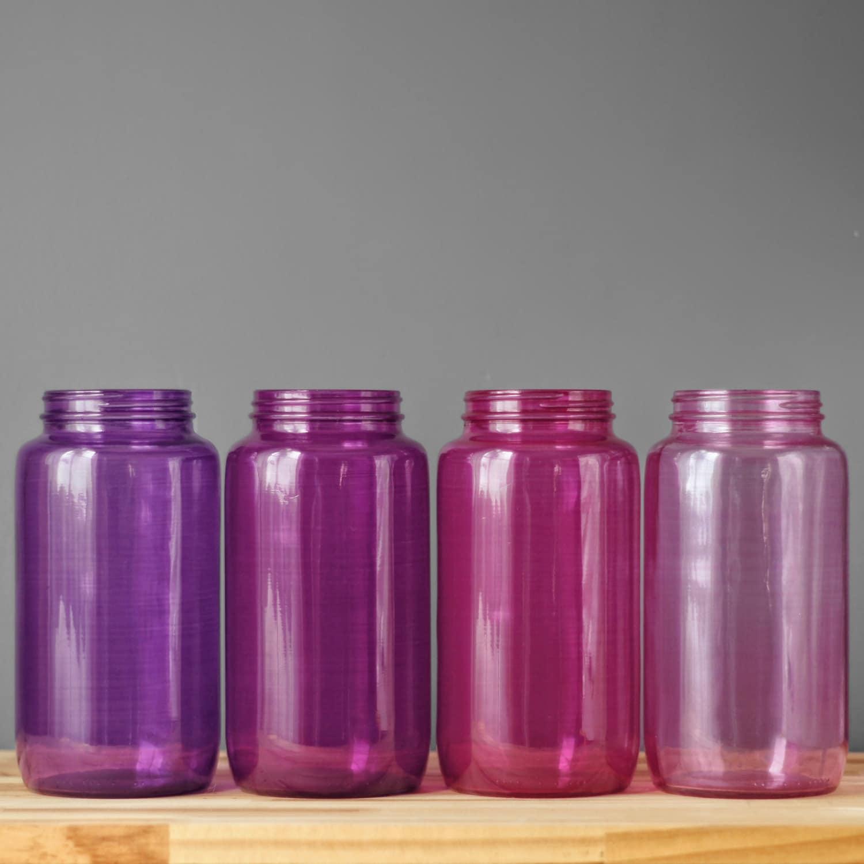 Bohemian kitchen storage canister mason jar storage for for Glass jar kitchen ideas