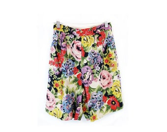 Vintage 80s/90s Anne Klein Linen Shorts size 4