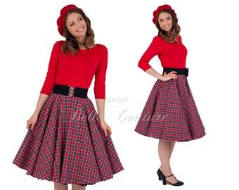 Custom Made & Handmade - 50s skirt for the winter item: 15758