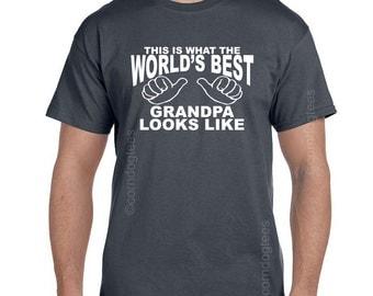 Grandpa TShirt Grandfather Gift Fathers Day Gift Grandpa T Shirt Father Gift for Grandfather Gifts for Papaw Grandparent Gifts Papaw Gifts