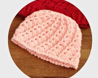 newborn baby beanie, crochet baby beanie, crochet beanie, crochet baby hat, baby girl hat, crochet hat, winter hat, crochet winter beanie