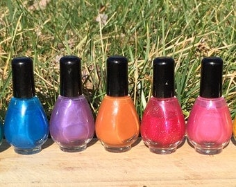 Scented Nail Polish - Create your Own: Choose color, glitter, and scent