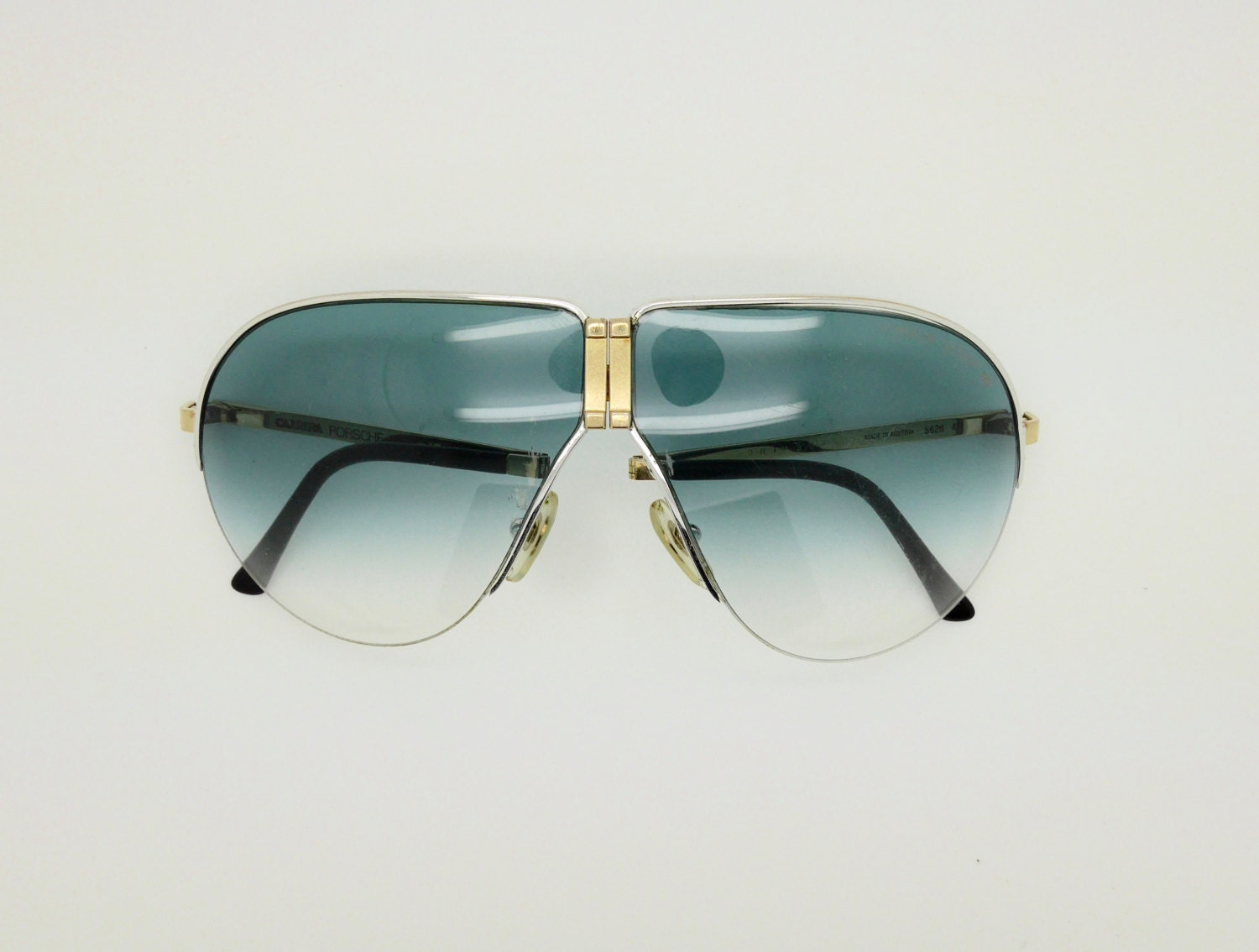 Vintage 80s Porsche Design 5628 41 Panorama Folding Glasses By