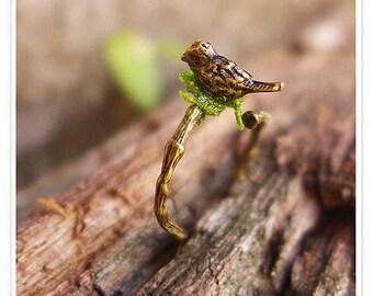 Tree Branch Ring, Tree Branch Jewelry, Bird Ring, Twig Ring, Nature Ring, Woodland jewelry, Vine Ring, Tree Ring, Bohemian Rings, Boho Rings