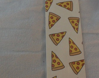 Pizza Bookmark w/ Charm