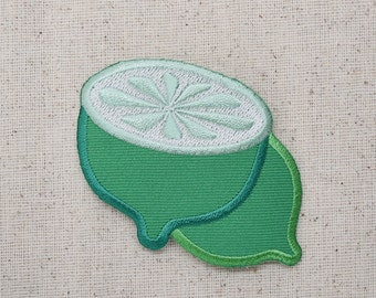 Limes - Fruit - Green - Iron on Applique - Embroidered Patch - AP151600
