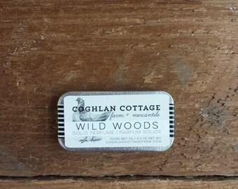 SOLID PERFUME | Wild Woods | Black Pine, Cedar + Sweet Orange Solid Cologne