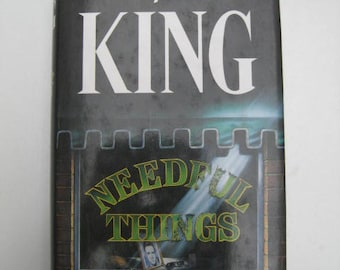 Stephen King. Needful Things. 1992 BCA Hardback 692 Pages. CG++ Clean Condition. Castle Rock Maine Horror Demons