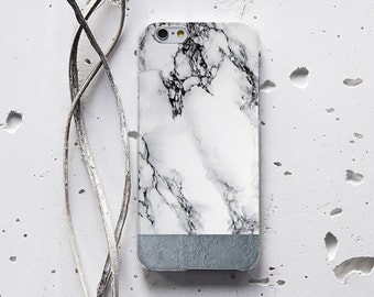 Marble Case S7 Case Galaxy S6 Case iPhone 7 Phone Case iPhone X Case Marble iPhone Case Unique iPhone 6 Case Clear iPhone 8 Plus Case WC1116