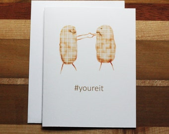 Witty Congratulations Card, Funny Congratulations Card, Witty Graduation Card, Funny Graduation Card, Hashtag Card, Proud of you