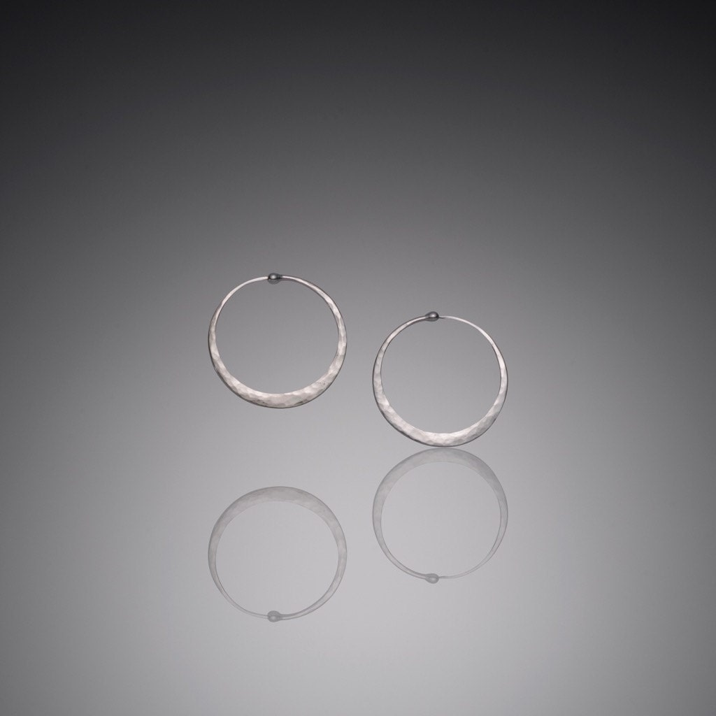 extra small silver hoop earrings mini 1 by. Black Bedroom Furniture Sets. Home Design Ideas
