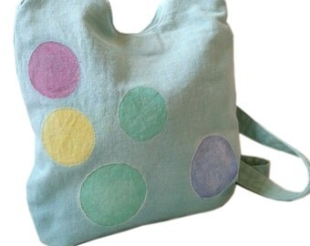 spotty shoulder bag