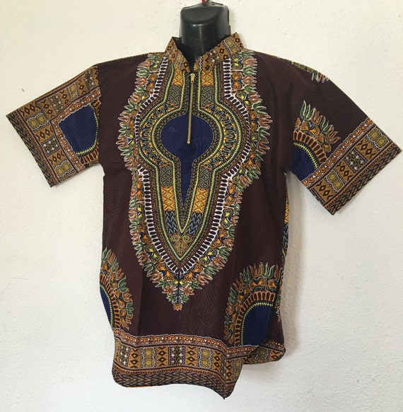 Handmade Men's Dashiki Shirt/ Women's Dashiki Shirt/