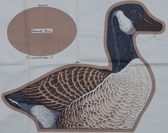 Canadian Goose Fabric Panel