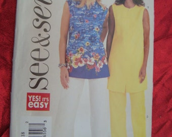 Vintage See and Sew Sewing Pattern