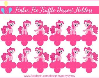 PINKIE PIE, My Little Pony, Pinkie Pie Party Supplies, Pinkie Pie Party Printable, Pinkie Pie Party Favors, Pinkie Pie Treat Box,Pinkie Pie.