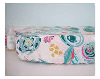 Custom baby changing pad cover