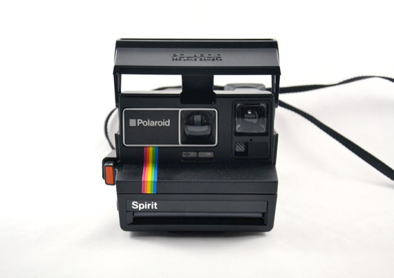 polaroid spirit 600 macchina fotografica istantanea vintage. Black Bedroom Furniture Sets. Home Design Ideas