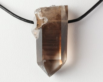 RESERVED***Not For Sale***Natural New Mexico Phantom Smoky Quartz Crystal Pendant
