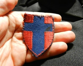Vintage WW2 British 21st Army Group Patch
