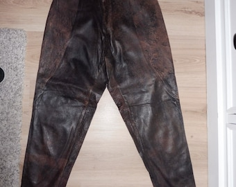 Leather size 36 pants