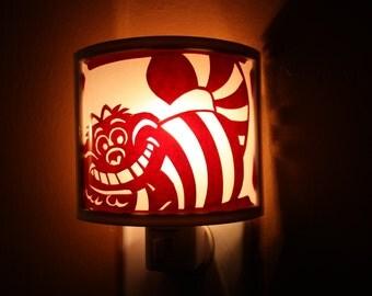 Alice in Wonderland Cheshire Cat night light