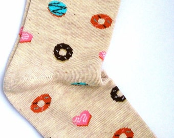 Donut socks – trendy cute sweets doughnut socks