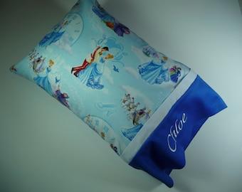 Pillow, Toddler Pillow, Travel Pillow, Small Pillow, Cinderella