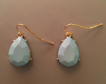 Light Blue Dandle earrings