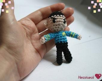 Mr. Spock Amigurumi charm