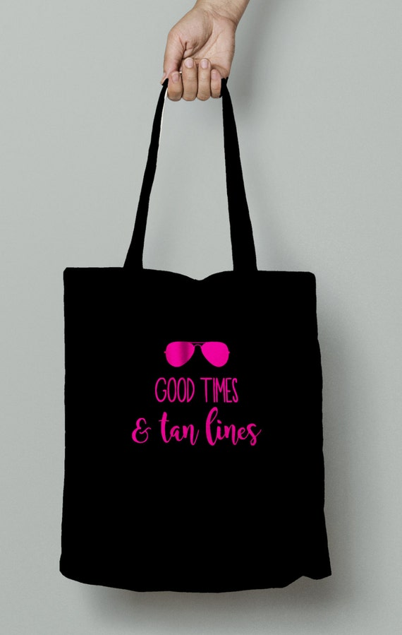 Good Times & Tan Lines Tote, bachelorette party, bachelorette tote, bridal party, bride