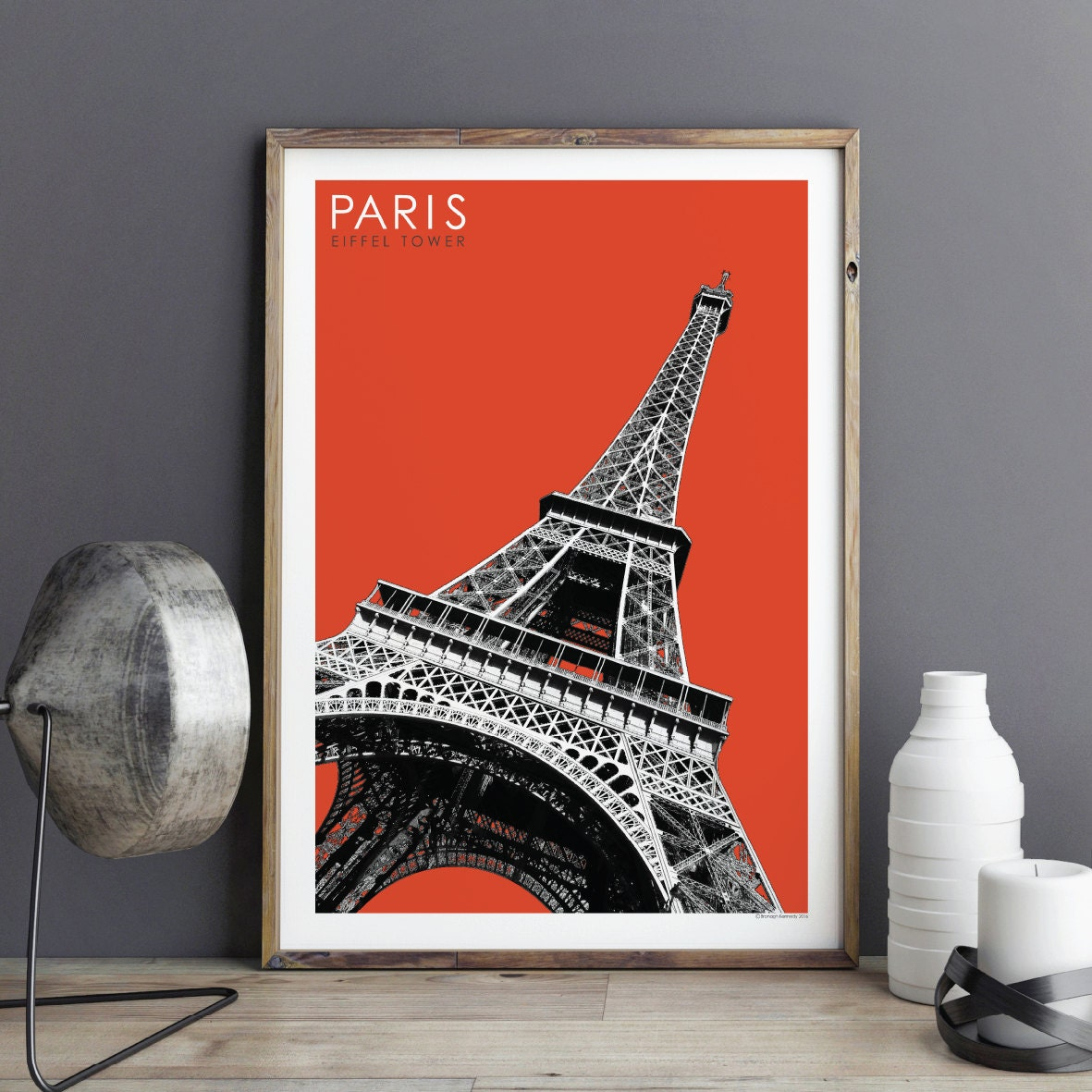 paris city print travel poster city print architectural. Black Bedroom Furniture Sets. Home Design Ideas