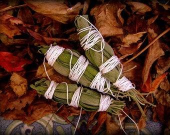 Homemade Garden Grown Smudging Sage
