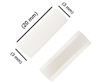 Pair of Replacement Nylon Plastic Jaws For Flat Nose Pliers Jewelry Tool - PLR-0071