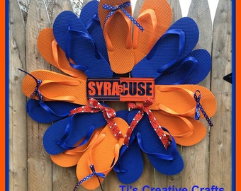 Custom Flip Flop Wreath - Taking Orders for Summer 2016