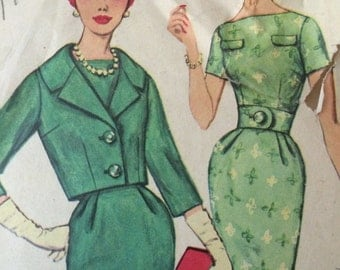 Gorgeous Jacket and Dress Simplicity Pattern 3084