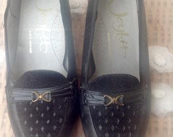 Original Vintage 1960's Mod Loafers - Size 5