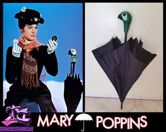 Mary Poppins Parrot Umbrella Walt Disney