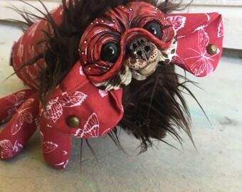 SUGAR BLOSSOM--Dream Creeper Plush Art Doll