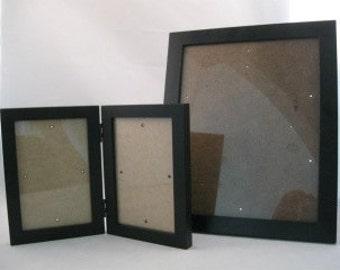 Black Satin Anodized Aluminum Picture Frames