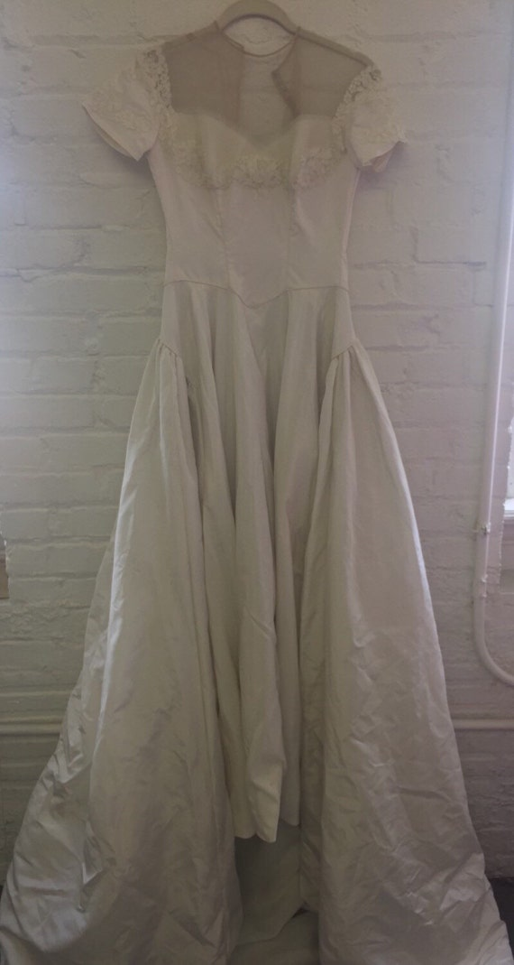 1940s wedding dress by Mindelle size XS