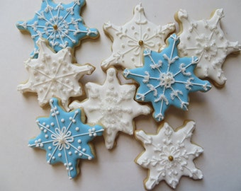Snowflake sugar cookie 1 dozen
